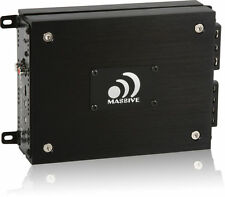 Massive Audio N2 Nano Monoblock 800W RMS Class D 1-Channel Compact Car Amplifier