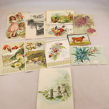 Vintage Cards - paper cut outs - scrapbooking - card making