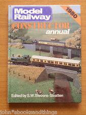 1980 MODEL RAILWAY CONSTRUCTOR ANNUAL TRAIN CONSTRUCTION PLANS MODELLISMO TRENO
