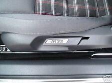 VW GOLF MK5 MK6 R32 ALEACIÓN ACABADO SEAT INSERTOS PAR GTI