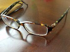 GUESS GU 1551 tortoise design Eyeglasses Glasses Frame 53 16-140, Pre-Owned