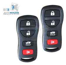 2 Replacement Keyless Entry Remote Key Fob Control Fit Nissan 2002-2006 Altima
