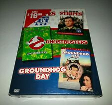 Classic Comedies Collection - Ghostbusters/Stripes/Groundhog Day (DVD, 2006) NEW