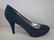 Calzado de mujer azul textiles Anne Michelle