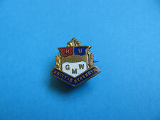 NU  GMW Union Badge. Unity Is Strength. National Union of General and Municipal
