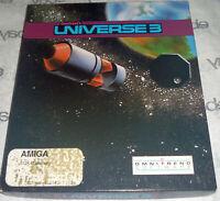 Commodore AMIGA 100% Complete Onmitrend's UNIVERSE 3 Big Box 1989 universe3 RARE