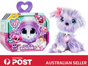 Little Live Scruff-A-Luvs Plush Mystery Rescue Pet Kids Children Toys Purple