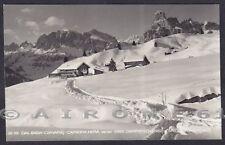 BOLZANO BOZEN CORVARA IN BADIA 17 RIFUGIO CAPANNA NERA Negerhütte Cartolina 1951