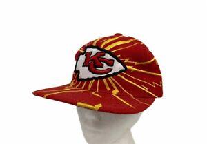 Vintage Kansas City Chiefs NFL Pro Line Starter Cap Red Sanpback One Size New