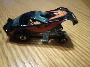 Hot Wheels 1977 Black Firebird Funny Drag Racer Car Black Kellogg Vintage