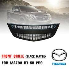 FRONT MATTE BLACK GRILLE GRILL FIT FOR MAZDA BT50 BT-50 PICKUP 2012 2015