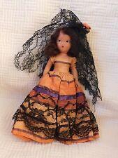 Vintage Nancy Ann Storybook Doll Operetta Rio Rita movable legs arms swivel head
