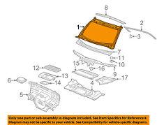 PORSCHE OEM 99-05 911 Cowl-Windshield Frame 99650213708GRV