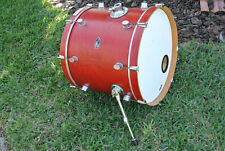 "ADD this PDP by DW MX MAPLE 22"" BASS DRUM in RED SATIN to YOUR DRUM SET!!! #E828"
