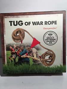 Tug Of War In A Box Game - Rope, Flag, Instructions, Beach / Party / Picnic