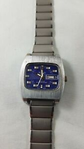Vintage Buler watch serviced works great , rare collector watch,