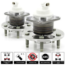 2x 2005-2009 Buick Allure FWD Rear Wheel Hub Bearing Stud ABS Unit Assembly Pair