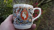 1937 Coronation of King Edward 8th Dame Laura Knight Pottery Designed Mug