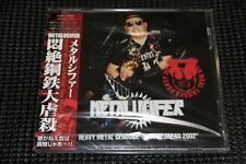 METALUCIFER Heavy Metal Genocide Live in Japan 2002 STILL SEALED Sabbat Abigail