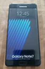 PERFECT REPLICA RARE SAMSUNG GALAXY NOTE 7 BLACK DISPLAY PHONE (NON-WORKING)