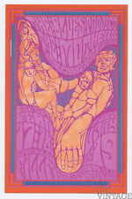 Bill Graham 50 Postcard The Blues Project Mothers of Invention 1967 Feb 17