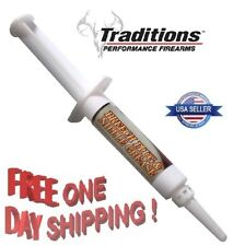Traditions * Black Powder Breech Plug and Nipple Grease 6cc Syringe # A1581 New