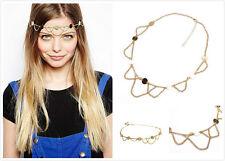 Gypsy Style Women Tassel Metal Head Chain Headpiece Hair Band Headband Headdress