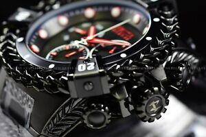 Invicta Woman 43mm Reserve Bolt Hercules Swiss BLACK LABEL Chronograph SS Watch