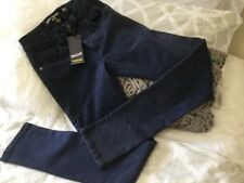 BNWT Factorie Swagger Size 24 Cobalt Blue Drop Crotch Skinny Jeans RRP $49.95