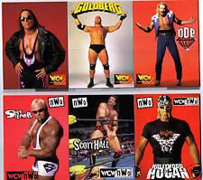 WCW NWO Wrestling complete set 10 card Pop Up Hulk Hogan Macho Man Bill Goldberg