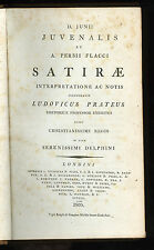 1805 - Juvenal.  Satires.