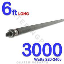 "HE7230 72"" / 6ft LONG 3000 watt 3kw DRY / WET ROD HEATING ELEMENTS UNIVERSAL"