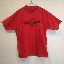VTG 80s Campagnolo  XL Single Stitch Cycling Made in USA T-Shirt w/ Pockets RARE