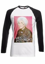 Sophia Golden Girls Pussycat Men Women Long Short Sleeve Baseball T Shirt 2000