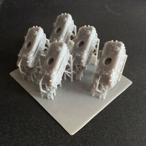 Pack of 5 Panther G   Resin 1:285 Scale For Micro Armour