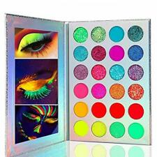 24 Colors High Pigmented Makeup Palette, Glow in the Dark Paint Neon