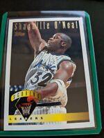 1995-96 Topps Scoring Leaders Insert Shaquille Shaq O'Neal Orlando Magic 32
