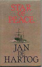 JAN DE HARTOG STAR OF PEACE BOOK CLUB FIRST EDITION HARDBACK DJ 1984