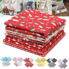 5Pcs Quilting Bundle Patchwork Cotton Fabric Handmade Diy Sewing Crafts 50x50cm