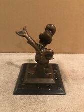 Disney Donald Duck at the Hub Bronze Statue