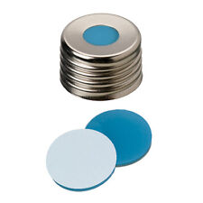 18 03 1309 ND18 Magnetic Screw Cap (8mm hole) with Silicone/PTFE Septa
