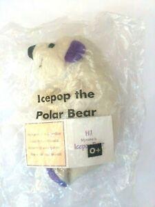 avon rare beanos vintage collectable ice pop polar bear