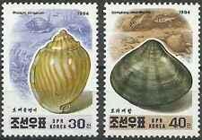 Timbres Coquillages Corée 2503/4 ** année 1994 lot 17413