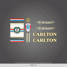 01040 Calrton Bicycle Stickers Decals Transfers