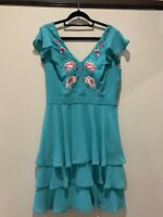 """Review dress, new with tags, turquoise, """"Summerside"""" Dress RRP $319, Size 12"""