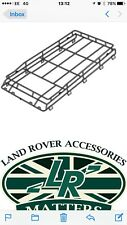 Land Rover Defender 90 and 110 genuine roof rack repair sections complete