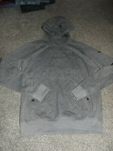 MENS DUCK AND COVER HOODIE UK SIZE MEDIUM GREY VGC MUST SEE !!!