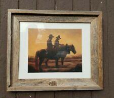 Judith Durr Barnwood Framed Print Western 14X 17X 1-1/4 frame 8X10 print