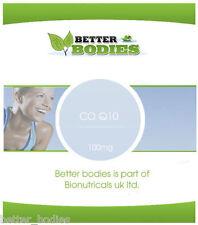 Co-Enzyme Q10 100mg CoQ10 CO-Q-10 CoQ-10 Softgels CoEnzyme Q10 Better Bodies®