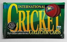 1994 - 95 Futera International Cricket - UNOPENED PACK (62 Available)